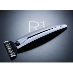 Bolin Webb R1 - Подарочный набор, бритва R1 хром, подставка R1 хром