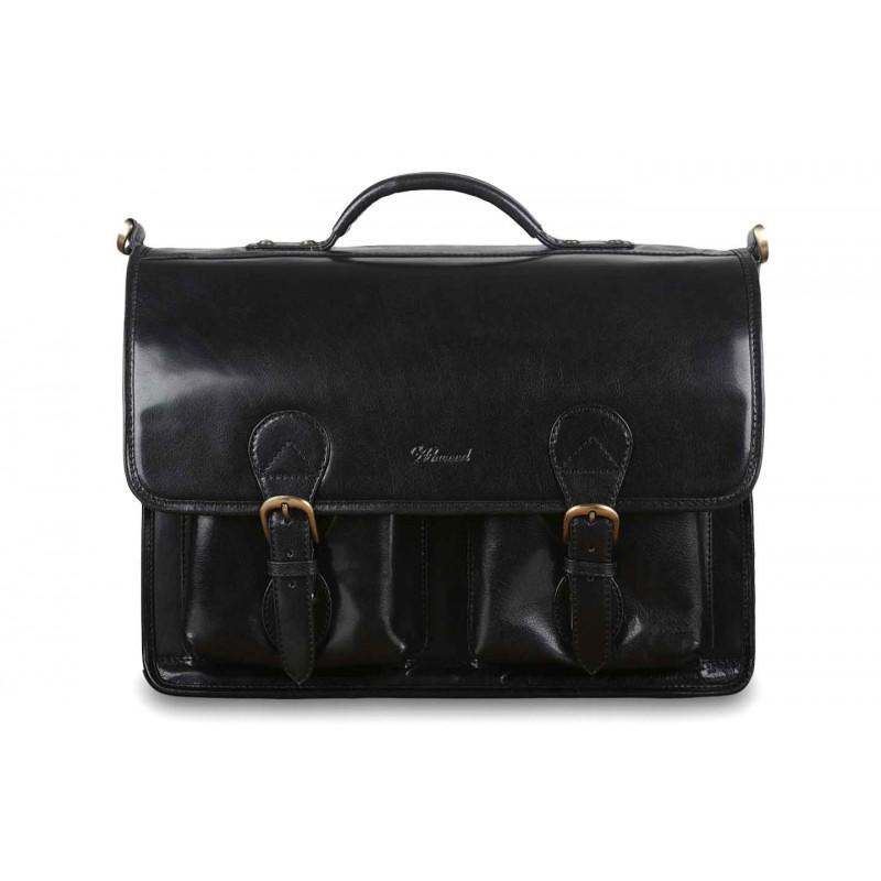 Портфель Ashwood Leather 8190 Black