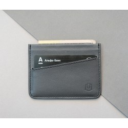 Кардхолдер Sneek slim wallet black X grey
