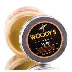 Woody`s Web - Паста со средней фиксацией и низким уровнем блеска для укладки волос 96 гр