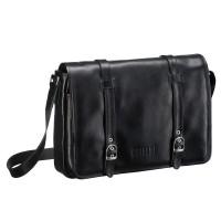 Кожаная сумка через плечо BRIALDI Turin (Турин) black