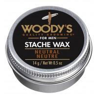 Woody`s Neutral Stache Wax - Классический воск для усов 14 гр