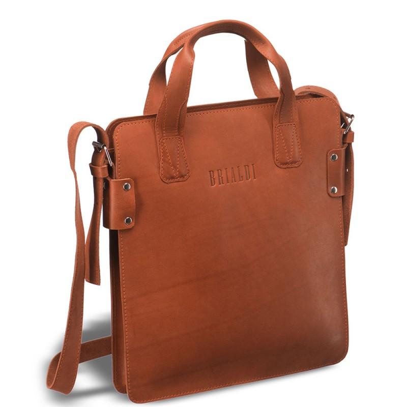 Деловая сумка SLIM-формата BRIALDI Catania (Катания) red