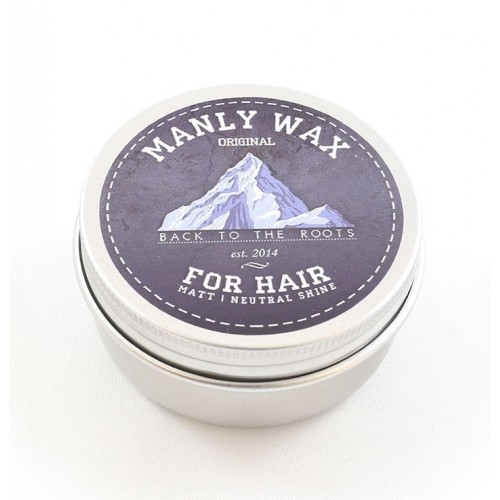 Manly Wax Original - Воск для волос средней фиксации, 50 гр