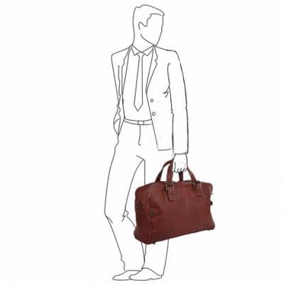 Дорожная сумка Ashwood Leather  Dylan  Rust