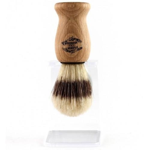 Lames & Tradition - Помазок для бритья с натуральной щетиной с держателем