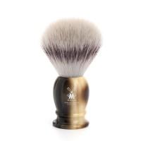 Muehle Classic - Помазок, фибра высшей категории Silvertip, смола, цвет рога, размер M