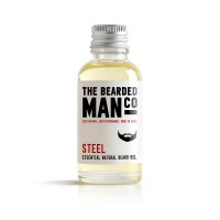 The Bearded Man Company - Масло для бороды Steel (Сталь), 30 мл