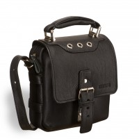 Кожаная сумка через плечо BRIALDI Page (Пейдж) black