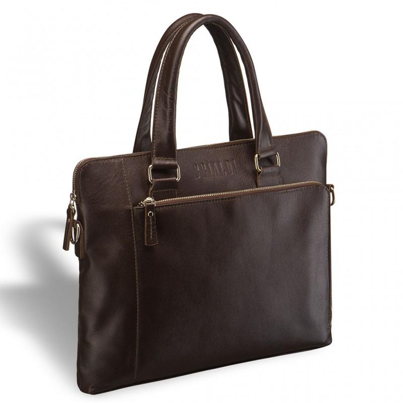 Деловая сумка BRIALDI Leicester (Лестер) brown