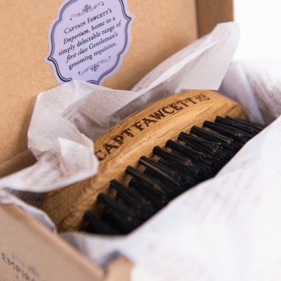 Captain Fawcett Wild Boar Bristle Beard Brush - Щетка для бороды