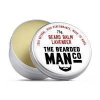 The Bearded Man Company Beard Balm Lavender - Бальзам для бороды (Лаванда), 75 гр
