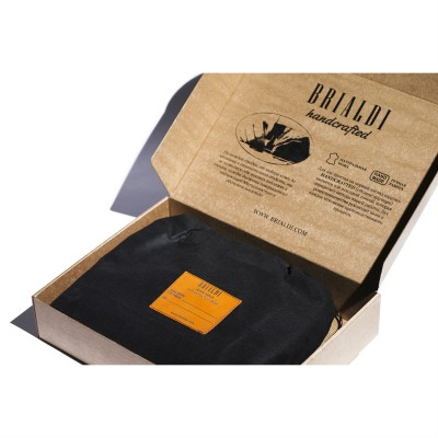 Папка для документов BRIALDI Campania (Кампания) brown