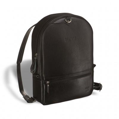 Кожаный рюкзак-трансформер BRIALDI Joker (Джокер) black