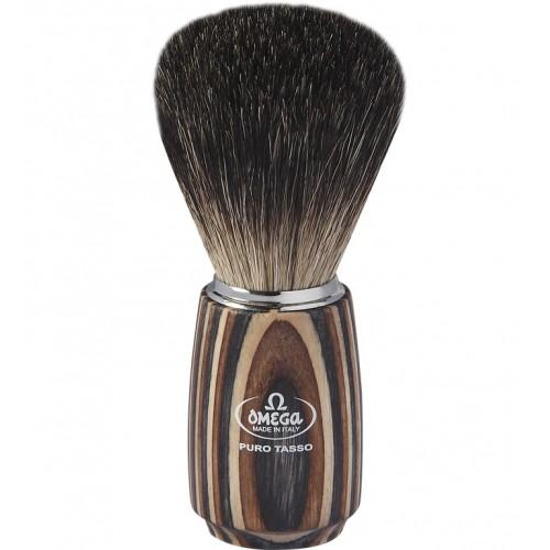 Omega 6752 - Помазок для бритья, Барсучий ворс.
