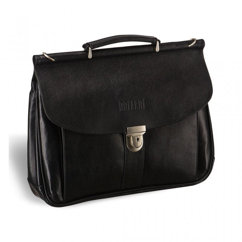 Мужской портфель BRIALDI Bergamo (Бергамо) black