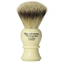 Taylor Of old Bond Street Pure Badger Brush P1020 Ivory - Помазок для бритья