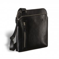 Кожаная сумка через плечо BRIALDI Providence (Провиденс) black