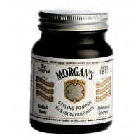 Morgan`s Vanilla & Honey Pomade - Помада для укладки экстрасильной фиксации без блеска 100 гр