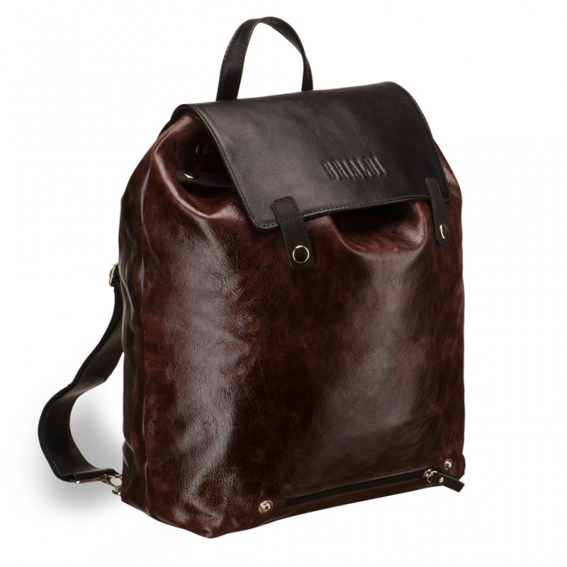 Кожаный рюкзак BRIALDI Laredo (Ларедо) antique brown