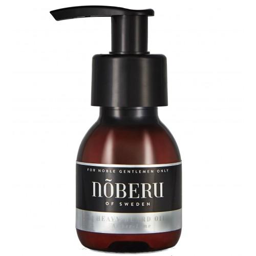 Noberu of Sweden Heavy Beard Oil Amber Lime - Масло для бороды 60 мл