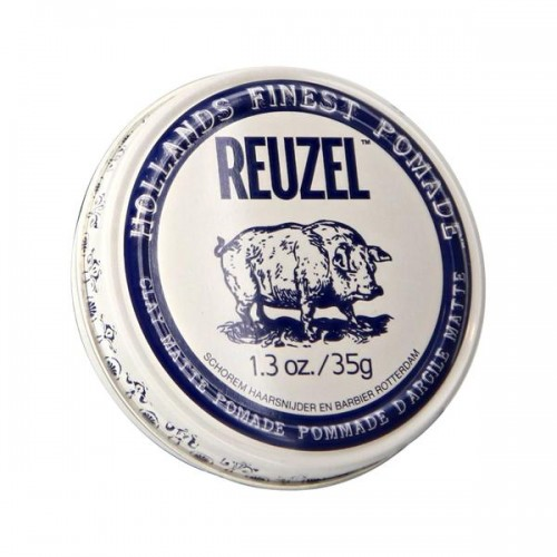 Reuzel Clay Matte Pomade - Матовая помада для укладки волос 35 гр