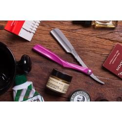 Feather Artist Club Ss - Профессиональная опасная бритва со сменными лезвиями винного цвета