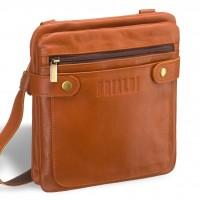 Кожаная сумка через плечо BRIALDI Newport (Ньюпорт) whiskey