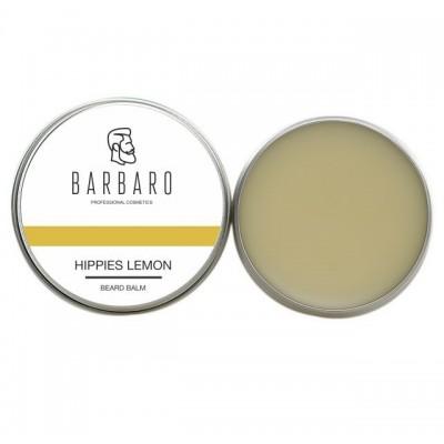 Barbaro Beard Balm Hippies lemon - бальзам для бороды Хиппи-Лимон 30 мл