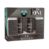 Selective Professional For Man All In One Beard Shampoo & Mask - набор бородача
