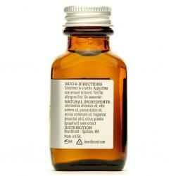 BeardBrand Spieced Citrus Beard Oil - Масло для бороды Пряный цитрус 30 мл