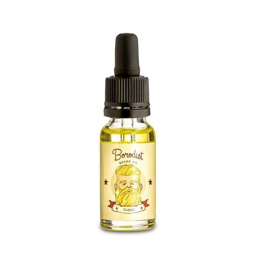 Borodist Beard Oil Classic - Масло для бороды 15 мл
