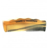 Lames & Tradition - Гребень для бороды из натурального рога