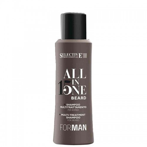 Selective Professional For Man All In One Beard Shampoo - шампунь для бороды 100 мл