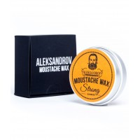 Aleksandrov Strong Sunrise - Воск для усов сильной фиксации Восход 13 гр
