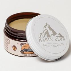 Manly Mud Clay - Глина для укладки волос на водной основе, 100 гр