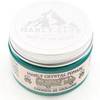 Manly Crystal Pomade - Помада для укладки волос на водной основе, 120 мл