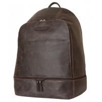 Кожаный рюкзак Merlengo brown (арт. 3025-04)