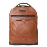 Кожаный рюкзак Montegrotto cog/brown (арт. 3022-03)