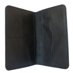 Кожаная документница Rezzato black (арт. 7402-01)