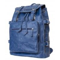 Кожаный рюкзак Volturno blue (арт. 3004-07)