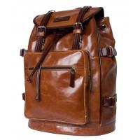 Кожаный рюкзак Volturno cognac/brown (арт. 3004-08)