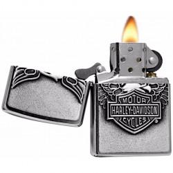 Зажигалка Zippo Harley-Davidson Motor Cycles Street Chrome
