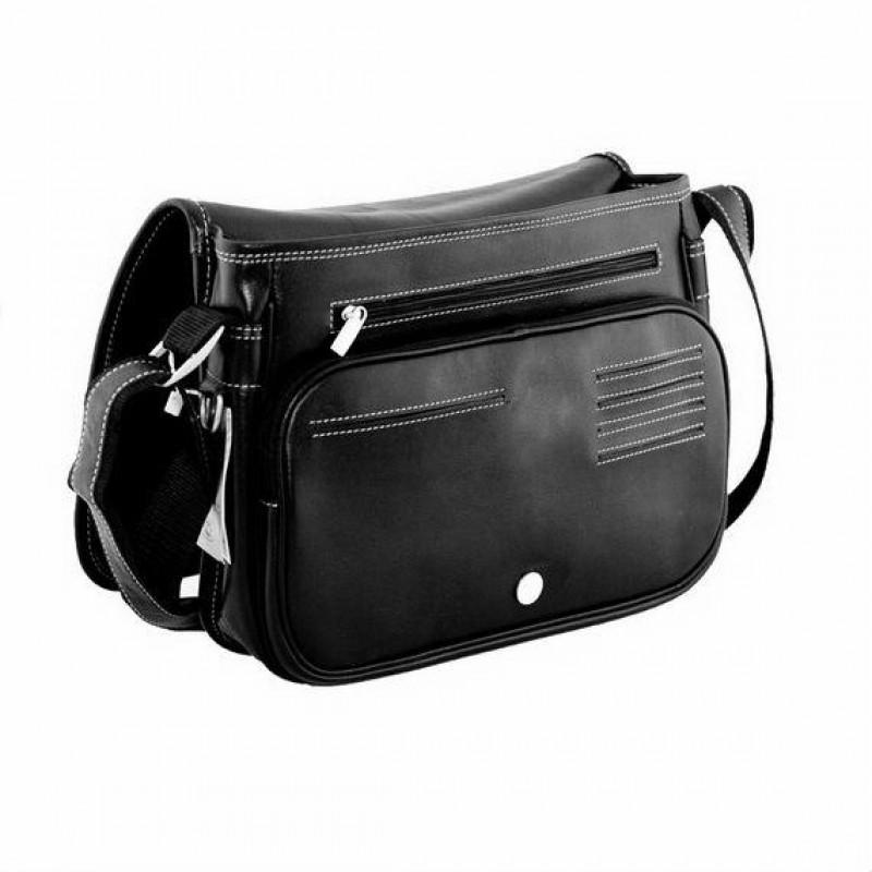336656cf3182 Кожаная сумка через плечо BRIALDI Cambridge (Кембридж) black ...