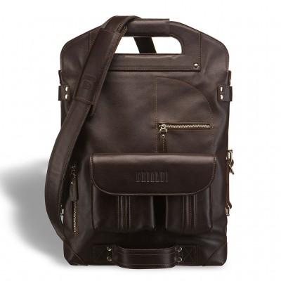 Универсальная сумка - трансформер BRIALDI Flint (Флинт) brown