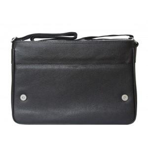 Кожаная сумка через плечо Adelano black (арт. 5025-01)