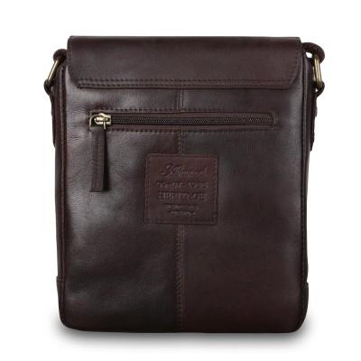 Сумка через плечо из натуральной кожи Ashwood Leather 1335 Brown