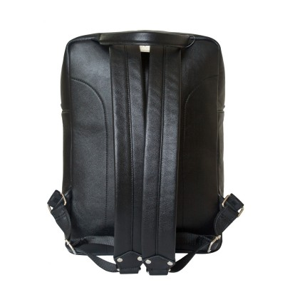Кожаный рюкзак мужской Carlo Gattini Berutto black (арт. 3064-01)