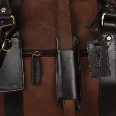 Дорожная сумка из кожи Ashwood Leather Marcus Tornado