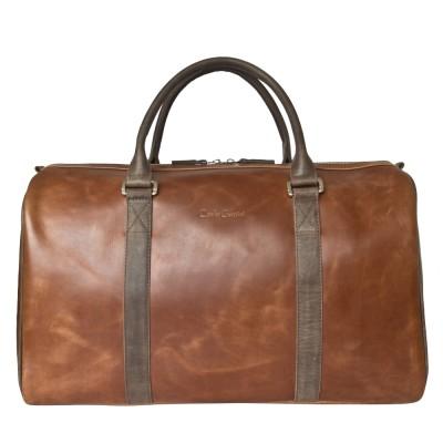 Кожаная дорожная сумка Carlo Gattini Noffo cog/brown (арт. 4018-03)